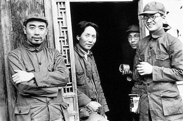 1937_Mao_Zhou_Bougu_Wang_Ming_in_Yan'an.jpg
